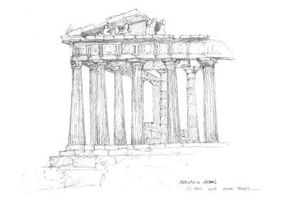 Parthenon, Athens, 2017