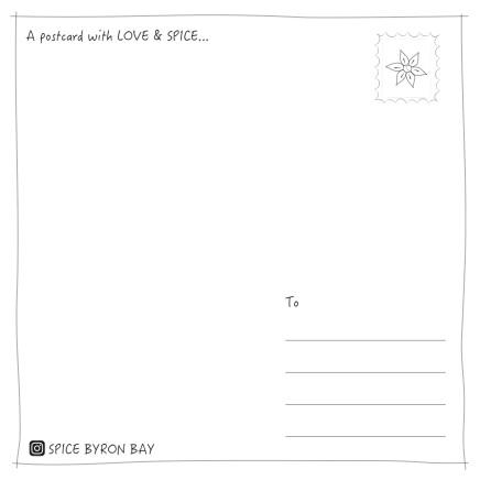Spice Postcard-2
